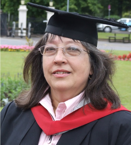 Sandy Colby, MA (Leicester), BA (Hons), BSc (Open)