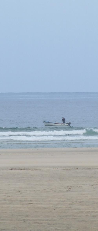 Fishing Boat at Porth Kidney
