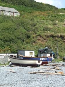 Fishing Boats at Porthustock